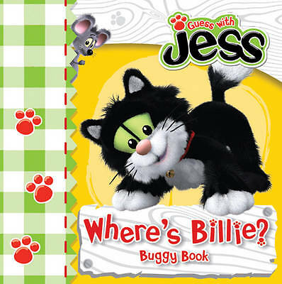 NEW Guess with JESS BUGGY BOARD BOOK - Where's Billie ? POSTMAN PAT 978140525577