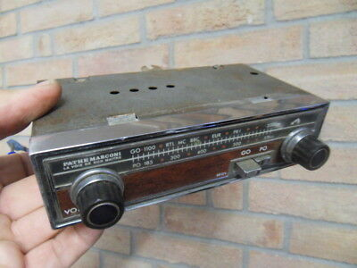 Old timer vintage radio car 60's ancien autoradio voiture PATHE MARCONI