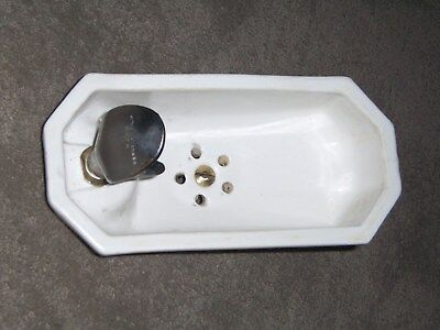 Vintage Used Porcelain Drinking Fountain