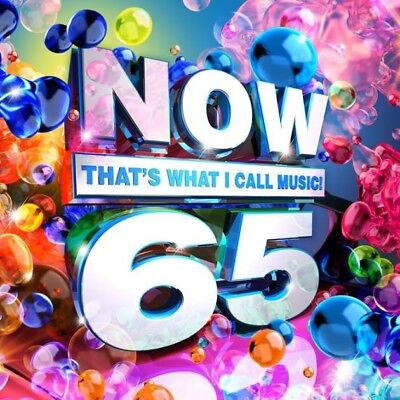 Now That's What I Call Music! 65 by Various Artists (CD, Feb-2018, Sony) NEW