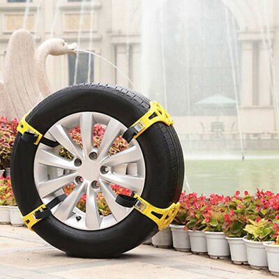 Snow Ice Mud Anti-Skid Grip Emergency Car Truck Wheel Tire Chain Traction Accs
