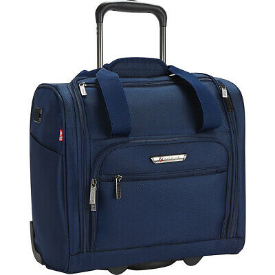 "Travelers Club Luggage Rafael 15"" Carry-On Underseat Softside Carry-On NEW"