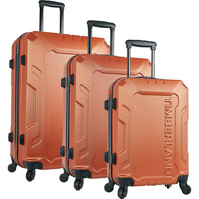Timberland Boscawen 3-Piece Hardside Spinner Luggage Luggage Set NEW