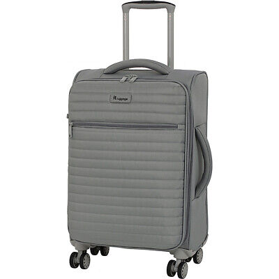 """it luggage Quilte 21.5"""" Lightweight Expandable Carry-On Softside Carry-On NEW"""