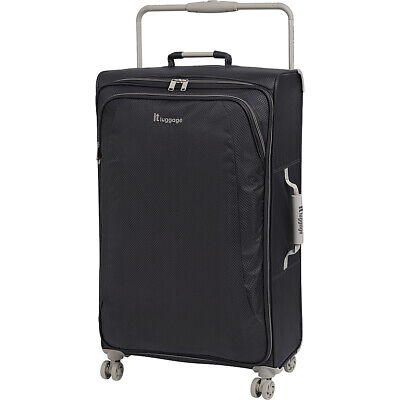 it luggage World's Lightest 8 Wheel Spinner 31.5 6 Colors Softside Checked NEW
