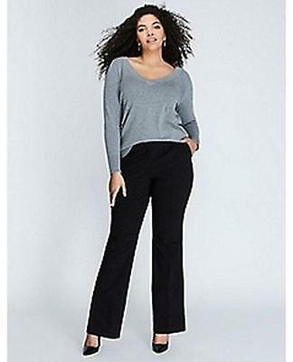 LANE BRYANT ~ NWT! 14 or 28 ~ Curvy LENA T3 Trouser w/ Tighter Tummy Technology