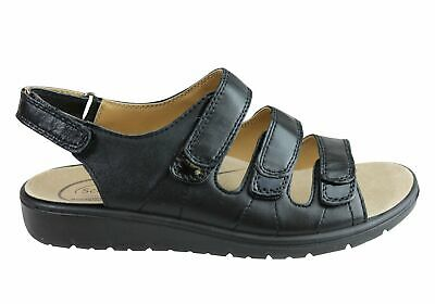 Brand New Scholl Orthaheel Alicante Womens Comfortable Adjustable Strap Sandals