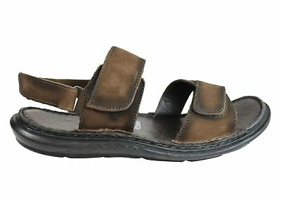 856913cc6d82 Savelli Sebastian Mens Leather Adjustable Sandals Made In Brazil