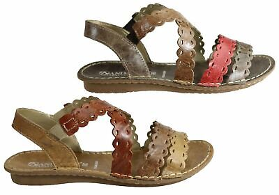 fb571de0b0a Andacco Cairns Womens Comfortable Flat Leather Sandals Made In Brazil