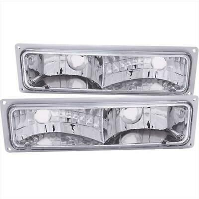 ANZO 511032 Euro Parking Signal Lights Clear