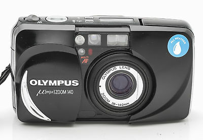 Olympus mju Zoom 140 All Weather Kompaktkamera Kamera mit 38-140mm Optik