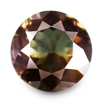 1.19ct 100% Natural earth mined greenish brown to salmon red color change garnet