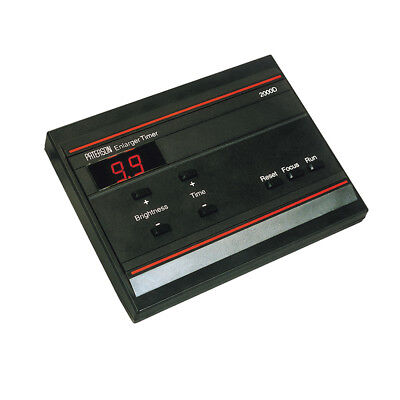 Paterson Digital Enlarger Timer 2000D. Pro Darkroom Unit. Made in Britain PTP745