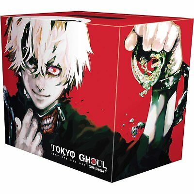 Tokyo Ghoul Complete Box Set By Sui Ishida Includes volume 1-14 Brand NEW
