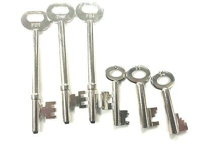Fire Brigade Key for Rim & Mortice Deadlock Door Dead Lock and Padlock