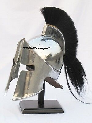 300 Movie Spartan King Leonidas Medieval Roman Helmet Greek Le Liner Reenactment