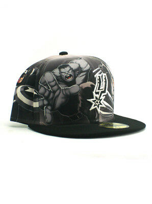 purchase cheap 13831 fb4c0 ... uk new era nba san antonio spurs 59fifty fitted hat size 7 1 2 marvel  heroes