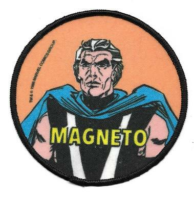 Vintage X-Men Magneto Marvel Comics Patch New & Unused 1985