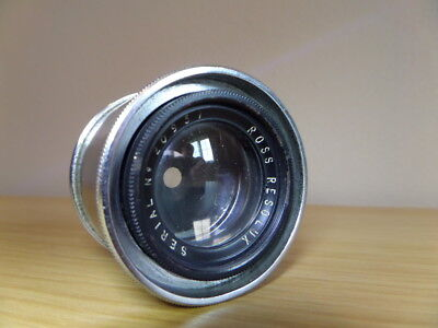 ROSS RESOLUX 11cm (110mm) f4 Enlarging Lens - Superb Condition