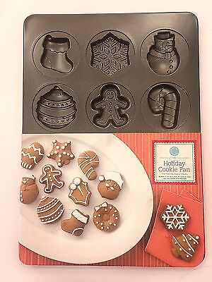Martha Stewart Collection Baking Cookie Pan Holiday Christmas Gingerbread Treats