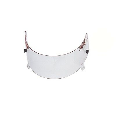 Simpson Race Products 89400A Replacement Clear Anti-Fog Shield for Super Bandit