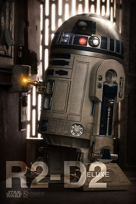 """Star Wars R2-D2 Deluxe 1/6 12"""" Sixth Scale action Figure Sideshow Collectibles"""