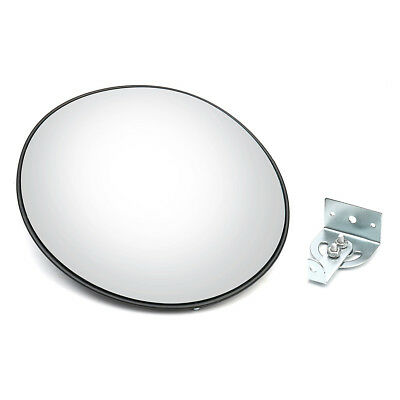 "Industrial Rated 12"" Acrylic Indoor Outdoor Safety & Security Convex Mirror"