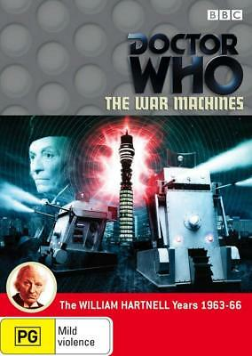 DR WHO 027 (1966) - WAR MACHINES - Doctor TV William Hartnell - NEW Au R4 DVD