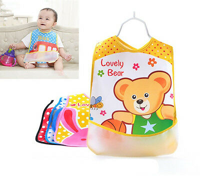 Baby Boy Girl Bibs Waterproof Saliva Towel Bib Feeding Burp Apron Bandana EVA