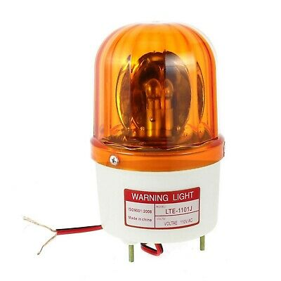 Industrial Sound Alarm Warning Signal Rotary Light DC 12V, 24V, AC 110V, 220V