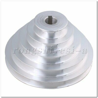 OD 54-150mm 5 Step Pagoda Pulley Timing Belt 19mm Bore for A Type V-Belt
