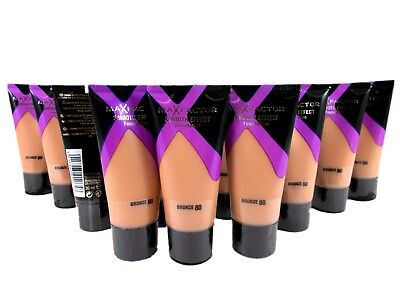 6 x Max Factor Smooth Effect Foundation 60 sand 30ml joblots wholesale
