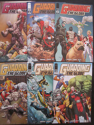 GUARDIANS of the GLOBE : COMPLETE 4 ISSUE SERIES by ROBERT KIRKMAN. IMAGE,2010