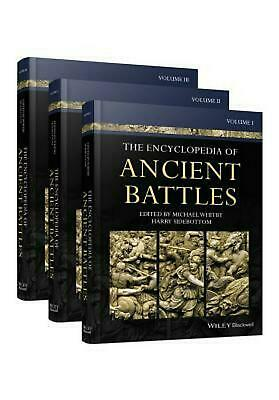 Encyclopedia of Ancient Battles: 3 Volume Set by Harry Sidebottom Hardcover Book