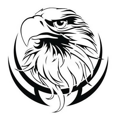 high detail airbrush stencil  tribal eagle three FREE UK POSTAGE