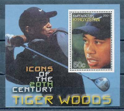 180610) Kirgistan gez. ** Block Golf Tiger Woods