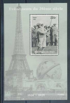 181584) Niger ** Blockausgabe Golf Bobby Jones