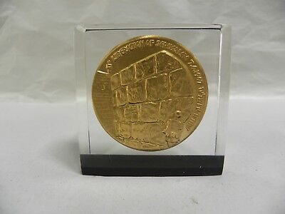 Vintage Liberation of Jerusalem 7-6-1967 Desk Paperweight (A5)
