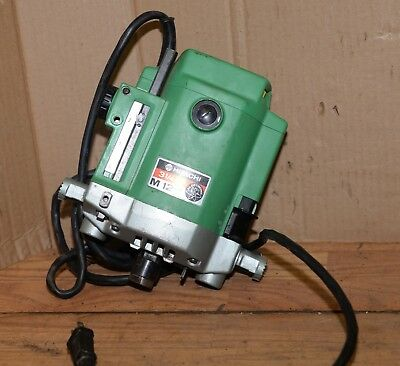 """Hitachi M12V 1/2"""" plunge router 3 1/4 hp no base heavy duty woodworking tool"""