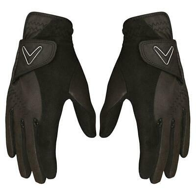 Callaway Golf Men's Opti Grip Wet Weather Rain Gloves (Pair)