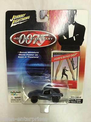 Johnny Lightning 007 James Bond 40th Anniversary Modellino Dune Buggy 2002