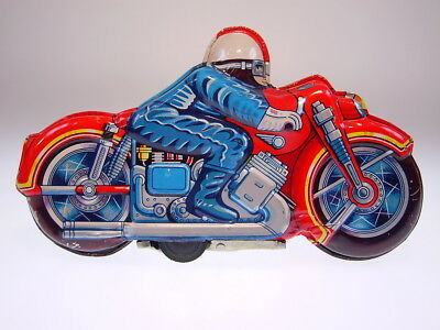 "GSMOTO MOTORCYCLE ""CIVILE RIDER"" JAPAN ?,22cm, FR OK, LIKE NEW/NEU/NEUF !"