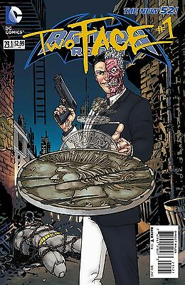 Batman And Robin #23.1 Two Face 3D Edición Cómic 2013 Nuevo 52 - Dc