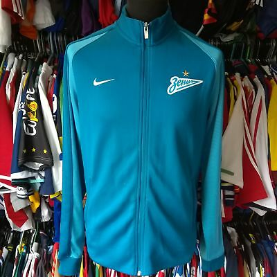 Fc Zenit Saint Petersburg Track Top Football Shirt Nike Jersey Size Adult L
