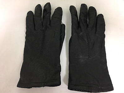 Women's leather gloves (7.5)