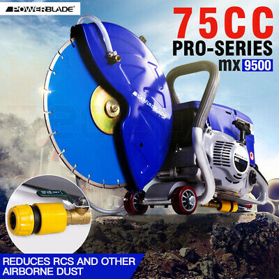 75CC Powerblade Petrol Demolition Saw Concrete Cut Off Wet Demo Road Cutter