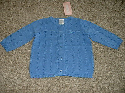 Baby Girls Gymboree All Ruffled Up Cardigan Sweater Size 3-6 months mos NWT $32
