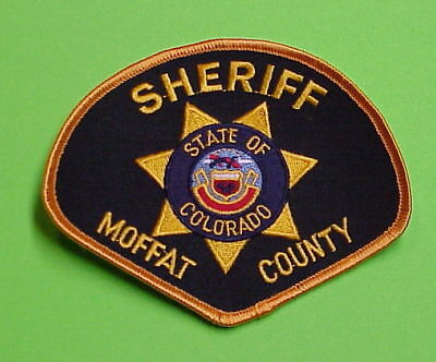 Moffat  Colorado  Co  Sheriff / Police Patch   Free Shipping!!!
