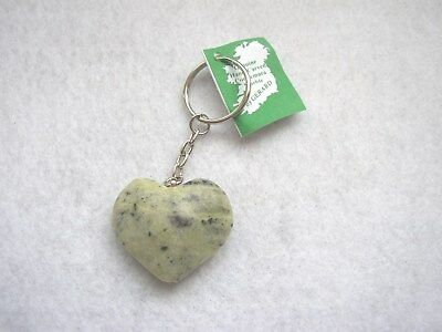 Heart Key Ring, Connemara Marble by Gerard, randomly selected