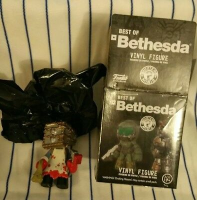 New Best of Bethesda Funko Mystery Mini Vinyl The Evil Within: The Keeper Bloody